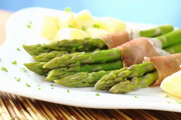 Spárgából készült ételek