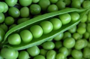 zöldborsó